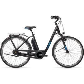 Cube Town RT Hybrid Pro 500 2021 28 Zoll RH 54 cm Easy Entry black'n'blue