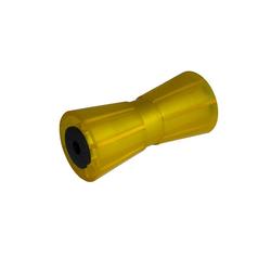 Kielrolle KNOOT 190 mm, in gelb, für Bootsanhänger