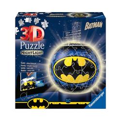 Ravensburger 3D-Puzzle 2in1 Nachtlich & puzzleball® Ø13 cm, 72 Teile,, Puzzleteile