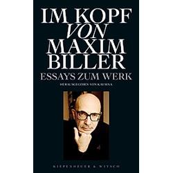 Im Kopf von Maxim Biller - Buch