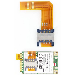SIM-Karten-Adapter f. Mini-PCIe 3G/4G/UMTS/LTE Modems