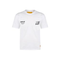 CATERPILLAR T-Shirt Caterpillar B-W Flag L