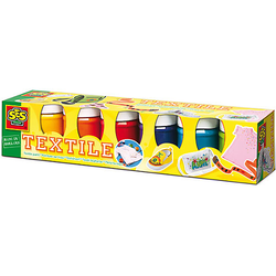 Textilfarben Basic, 6 x 50 ml