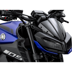 Rizoma Windschild Polycarbonat ZYF032B an Yamaha MT-09 2017-