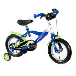 HUDORA® Kinderfahrrad, 12, blau/grün 10540