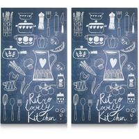 Zeller Lovely Kitchen Herdabdeckplatten 2 St.
