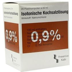 KOCHSALZ 0.9% ISOTON PL