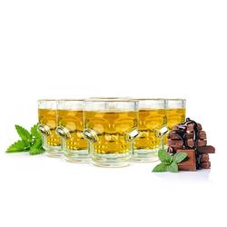Sendez Schnapsglas Schnapsgläser in Totenkopf Shotgläser Schädel Schnaps Shots Stamper Vodkagläser