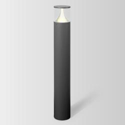 Getton Pollerleuchte 2.0 Opalglas - 80 cm