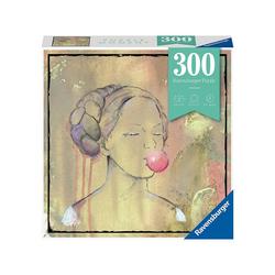Ravensburger Puzzle Puzzle Bubblegumlady, 300 Teile, Puzzleteile