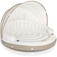 Intex Badeinsel Relaxlounge Canopy Island inkl. Sonnendach