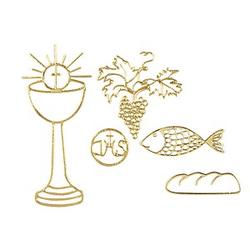 Rayher Klebemotive Christliche Symbole 31 St.