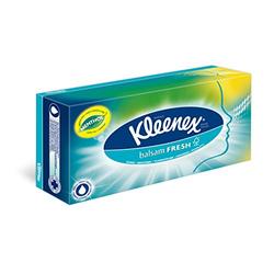 Kleenex Balsam plus Menthol Taschentücher Box, 3er Pack (3 x 72 Stück)