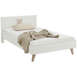 Bett Victor, Kinderbett, Einzelbett weiß