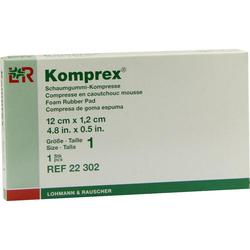 Komprex Schaumgummi Kompr.Gr.1 Nierenf.