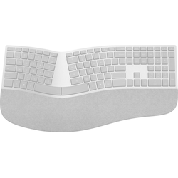Microsoft Surface Ergonomic Keyboard Silber/Grau