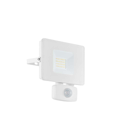 LED Strahler Faedo3 20W mit Sensor Weiß