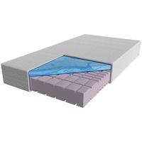 AM Qualitätsmatratzen AM Qualitätsmatratzen, - Premium 7-Zonen Gelschaummatratze   140x200 cm   H2   Kaltschaummatratze