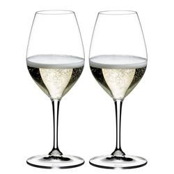 RIEDEL Serie VINUM Champagner Weinglas 2 Stück Inhalt 445 ml Champagner