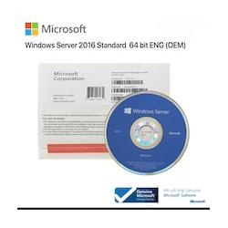 Microsoft Server Standard 2016 16 Core OEM DVD Brand New