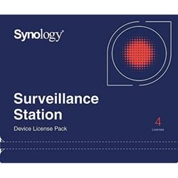 Synology Device License / 4x IP Kameralizenz oder 4x I/O-Modul