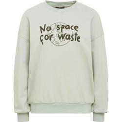 Mavi Sweatshirt NO WASTE mit coolem