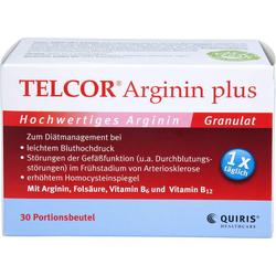 TELCOR Arginin plus Btl. Granulat 30 St.
