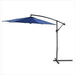 Ampelschirm 3 Meter blau Sonnenschirm Gartenschirm Schirm Sonnenschutz