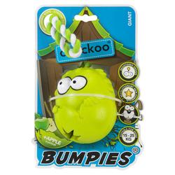 Coockoo Hundespielzeug Bumpies mit Seil Apfel, Maße: 11 x 8,7 x 7,5 cm