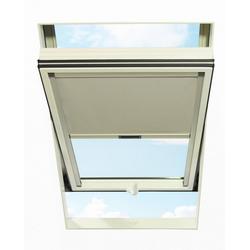 Dachfensterrollo, RORO Türen & Fenster, abdunkelnd, BxL: 54x98 cm, hellgrau