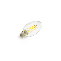INNOVATE E14 LED-Kerze im praktischen 10er-Set weiß