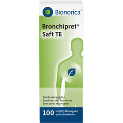 BRONCHIPRET Saft TE 100 ml