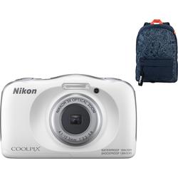 Nikon Coolpix W150 Rucksack-Set Weiß