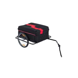 HOMCOM Fahrradlastenanhänger Transportanhänger für Fahrräder