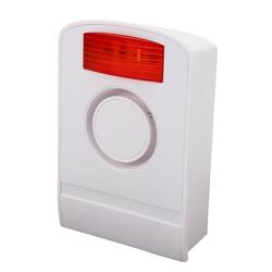 Olympia Außensirene Alarmanlage (Funk-Alarmanlage, 105 dB, Sicherheitstechnik, Sirenen, wei)