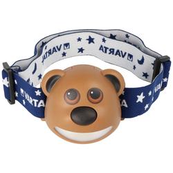 Paul der Bär LED-Stirnleuchte, Paul the Bear Kopfleuchte LED von Varta inklusive 3 Micro AAA Batterien