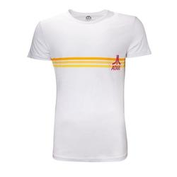 ATARI T-Shirt Atari - Striped Logo Men's T-shirt Grösse S-M-L-XL-XXL