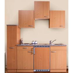 RESPEKTA Küchenzeile, Breite 180 cm natur