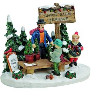 Wurm 55409 - Christbaum-verkaufsstand - Weihnachtsdorf/weihnachtsmarkt