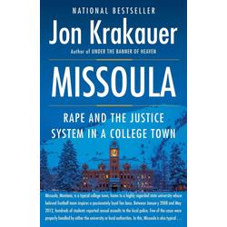 Missoula als Buch von Jon Krakauer