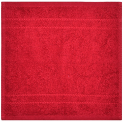Dyckhoff Seiftuch 'Kristall' Rot 30 x 30 cm