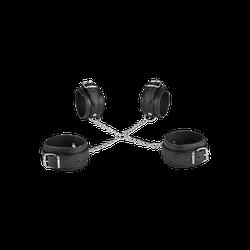 Fesselkreuz in Leder-Design