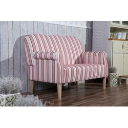 Max Winzer® 2-Sitzer Juuma, mit Federkern, im Retrodesign