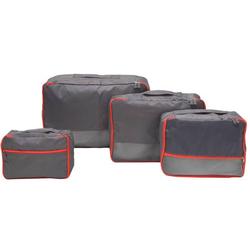 4 Kofferorganizer S-XL Reise Packtaschen Set Rucksack Packwürfel Koffer Taschen
