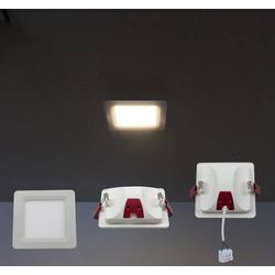 Heitronic Kallisto 23167 LED-Einbauleuchte 7W Weiß