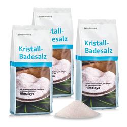 Kristall-Badesalz