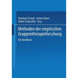 Methoden der empirischen Gruppentherapieforschung: eBook von