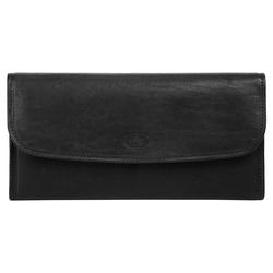 Piké Brieftasche, 2fach klappbar schwarz Taschen Brieftasche Unisex