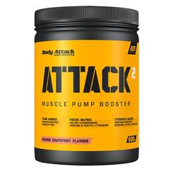 Body Attack Attack²  600g (Geschmack: Orange Grapefruit)