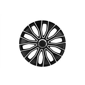 Unbekannt Petex Radkappensatz, 35,6 cm (14 Zoll), Voltec Pro, schwarz/weiß (1350–3629)